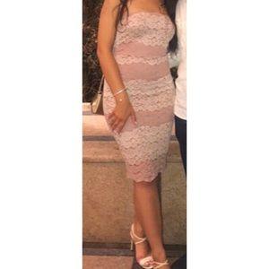 Guess Lace Mauvenude Dress